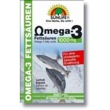 SUNLIFE OMEGA 3 KAPSZULA 60DB táplálékkiegészítő