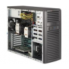 """Supermicro Mid-Tower, 4x 3.5"""" internal tool-less HDD bays w/ 2x Xeon E5-2600 support, C602"""