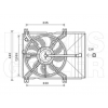 Suzuki Swift (AZG) 2010.09.01- Hűtőventilátor kpl. (diesel) (05GR)