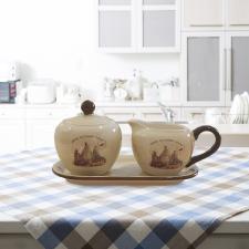 Sweet Home cukor és tejtartó szett konyhai eszköz