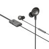 Sweex Headset ANC (Active Noise Cancelling) Fülbe Dugható 3.5 mm Vezetékes Beépített Mikrofon 120 cm Antracit/Fekete Sweex swanchs100gy