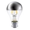 Sylvania ToLEDo Retro CS bulb 4-39W B22 827 A60 SILVERED CROWN
