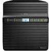 Synology DiskStation DS418j NAS, Marvell Armada Dual Core 1.30GHz processzor, 512 MB DDR3, 4 bay (DS418j)