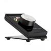 SysCon 1 zónás RF RGB asztali LED vezérlő forgatógombbal, fekete