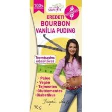 Szafi Fitt Bourbon vanília pudingpor  - 70g diabetikus termék