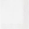Szalvéta 33x33 cm, 20 db/csg, 3 rétegű fehér