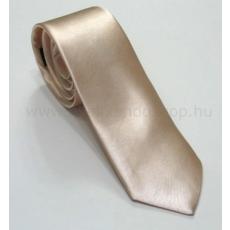 Szatén slim nyakkendõ - Arany