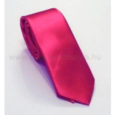 Szatén slim nyakkendõ - Pink
