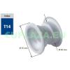 Szellőző, ajtóhoz, T14mzE, kerek, műanyag, arany, átmérő 25 mm, 4 db/csomag