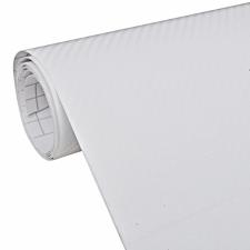 Szén Szálas Vinyl Autó Fólia 3D Fehér 152 x 200 cm dugókulcs