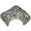 Szer-Ber Négyszög alakú kerámia műszikla kunyhó