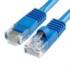 Szerelt patch kábel UTP Cat6 3 m PVC KÉK