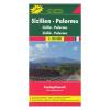 Szicília - Palermo térkép / TOP 10 Tipp / freytag & berndt
