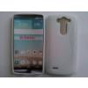 Szilikon tok, LG G3 Mini, védőtok, S-LINE, fehér