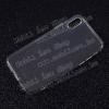 Szilikon védõ tok / hátlap - ULTRAVÉKONY! 0,6mm - ÁTLÁTSZÓ - APPLE iPhone X