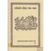 Színházi hírek 1780-1803