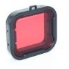 Színszűrő lencse SJCAM SJ6 kamerához vízalatti felvételekhez (kameraházra) Piros/Sárga/Kék/Rózsaszín/Szürke