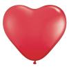 Szív alakú 40 cm-es óriás gumi lufi (Pink)