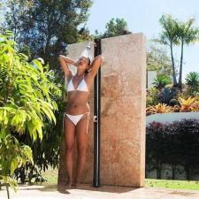 Szolár kerti zuhany medence kiegészítő