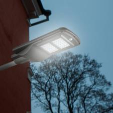 Szolár napelemes led lámpa, utcai világítás 60W kültéri világítás