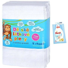 T-tomi ruha pelenka 10db - Fehér pelenka