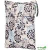 T-tomi Vízálló táska, Szürke Virágos