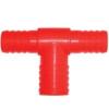 T vízelosztó 3/4 -2 x 3/4 piros (10605)
