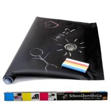 Táblamatrica, öntapadós, méretre vágható + AJÁNDÉK 5 db színes kréta matrica