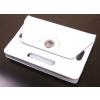 Tablettok UNIVERZÁLIS 7,0 fehér elfordítható műbőr tablet tok: Huawei, Lenovo, Samsung, iPad...