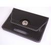 Tablettok UNIVERZÁLIS 7,0 fekete  elfordítható műbőr tablet tok: Huawei, Lenovo, Samsung, iPad...