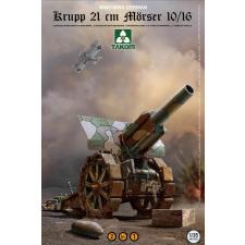 Takom Krupp 21 cm Mörser 10/16 löveg makett Takom 2032 makett figura
