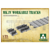Takom Mk IV Cement Free Workable Tracks makett kiegészítő 2008X