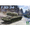 Takom U.S. Heavy Tank T30/34 2 in 1 tank makett 2065