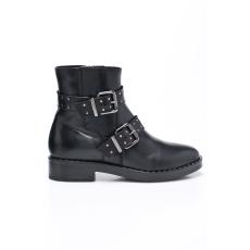 Tamaris - Magasszárú cipő - fekete
