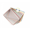 TARIFOLD Bemutatótábla, A4, műanyag, TARIFOLD, sárga (10 d