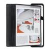 """TARIFOLD Bemutatótábla tartó, asztali, A4, 10 férőhelyes, TARIFOLD """"Veo"""", fekete"""