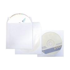 Tasak CD-hez fehér önt. ablakos tasak