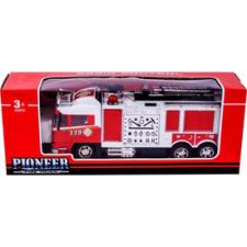 Távirányítós tűzoltóautó - 32 cm autópálya és játékautó