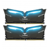Team Group T-Force Nighthawk, kék LED, DDR4-3200, CL16 - 32 GB(THBD432G3200HC16CDC01)