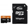 Teamgroup 64GB microSDXC Class 10 UHS-I + adapterrel