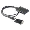 Techly VGA (USB audio) -- HDMI átalakító,