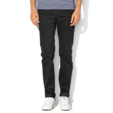 Ted Baker , Slim fit chino nadrág, Fekete, 38 (146386-BLACK-38)