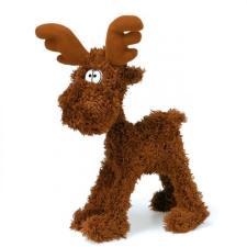 Teddy Kompaniet Hajlítható jávorszarvas 26 cm plüssfigura