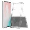 Telealk Samsung Galaxy Note 20, ütés és karcálló, akril műanyag tok, átlátszó