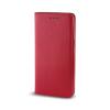 TelForceOne Smart Magnet Samsung Galaxy J3 (2017) oldalra nyíló tok, piros
