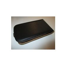 Telone Flexi Slim lefelé nyíló bőrbevonatos tok LG D405 L90-hez fekete* tok és táska