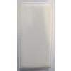 Telone Pocket Slim lefelé nyíló érdes bőrbevonatos fliptok Samsung G928 Galaxy S6 Edge Plus-hoz fehér*