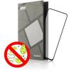 Tempered Glass Protector Antibacterial Xiaomi Redmi Note 9-hez, fekete