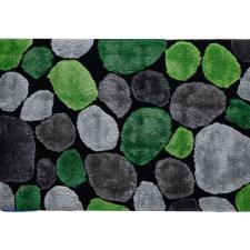 Tempo Szőnyeg, zöld-szürke-fekete, 120x180, PEBBLE TYP 1 gyermekbútor