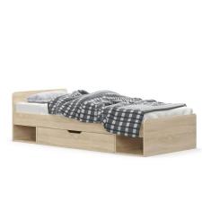 Tempo TEYO Ágy 1S/90 sonoma tölgy ágy és ágykellék